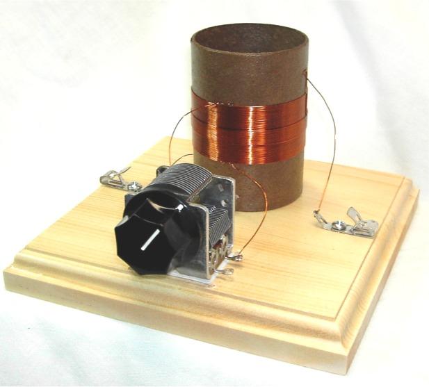 Electrochemistry Build A Radio Receiver Simple Radio Circuit