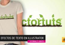 50 Tutoriales de Efectos sobre Texto en Illustrator