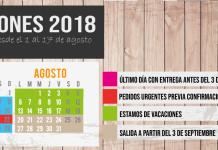 Vacaciones Xtampa 2018