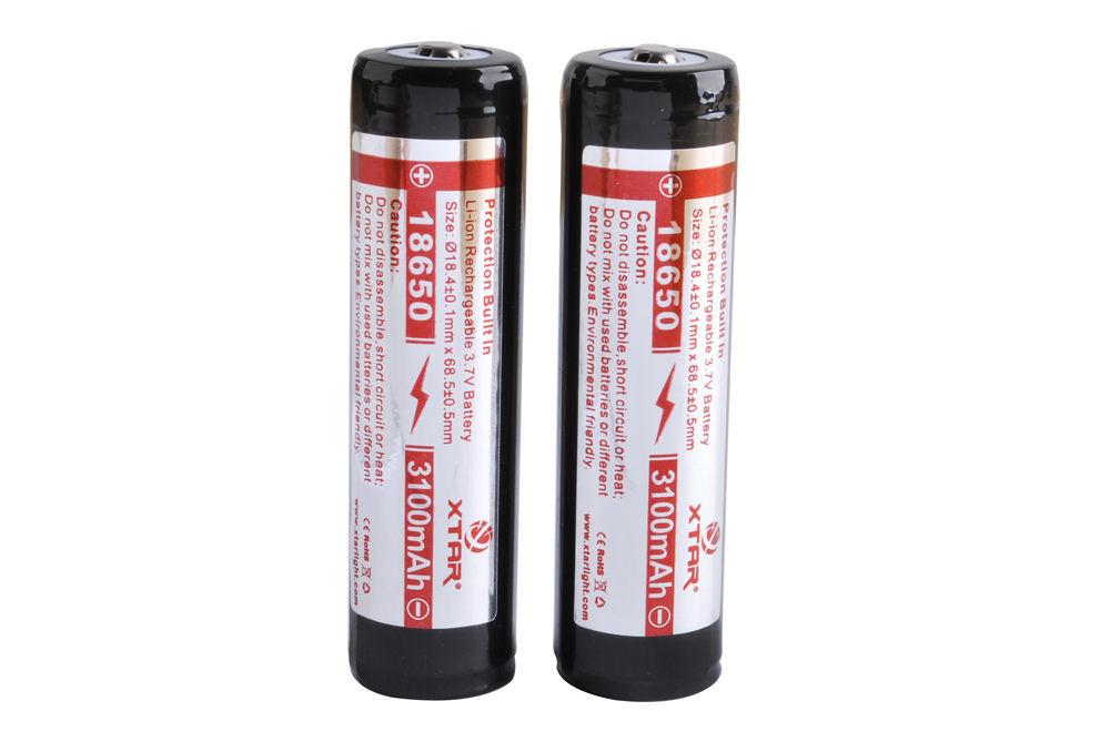 18650 3100mAh Battery (Protected)