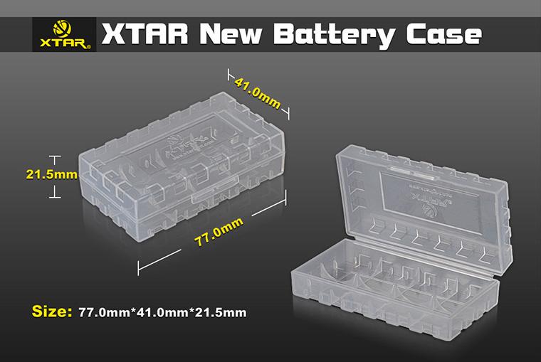 18650 Battery Storage Box
