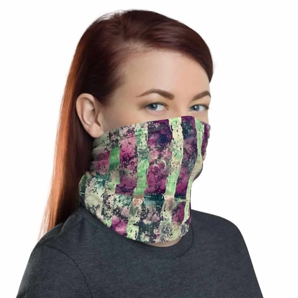 Purple Tiger Fashion Gaiter