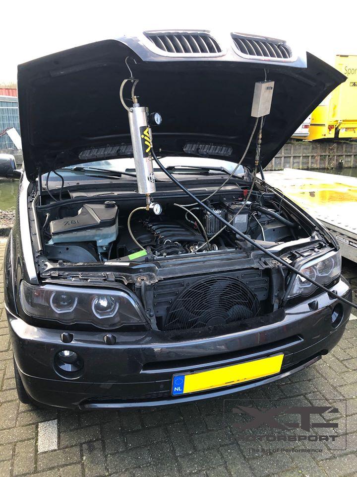 Diesel inlaat motor reiniging