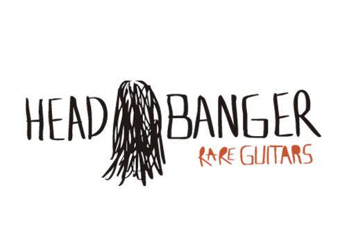 Logo head banger guitars