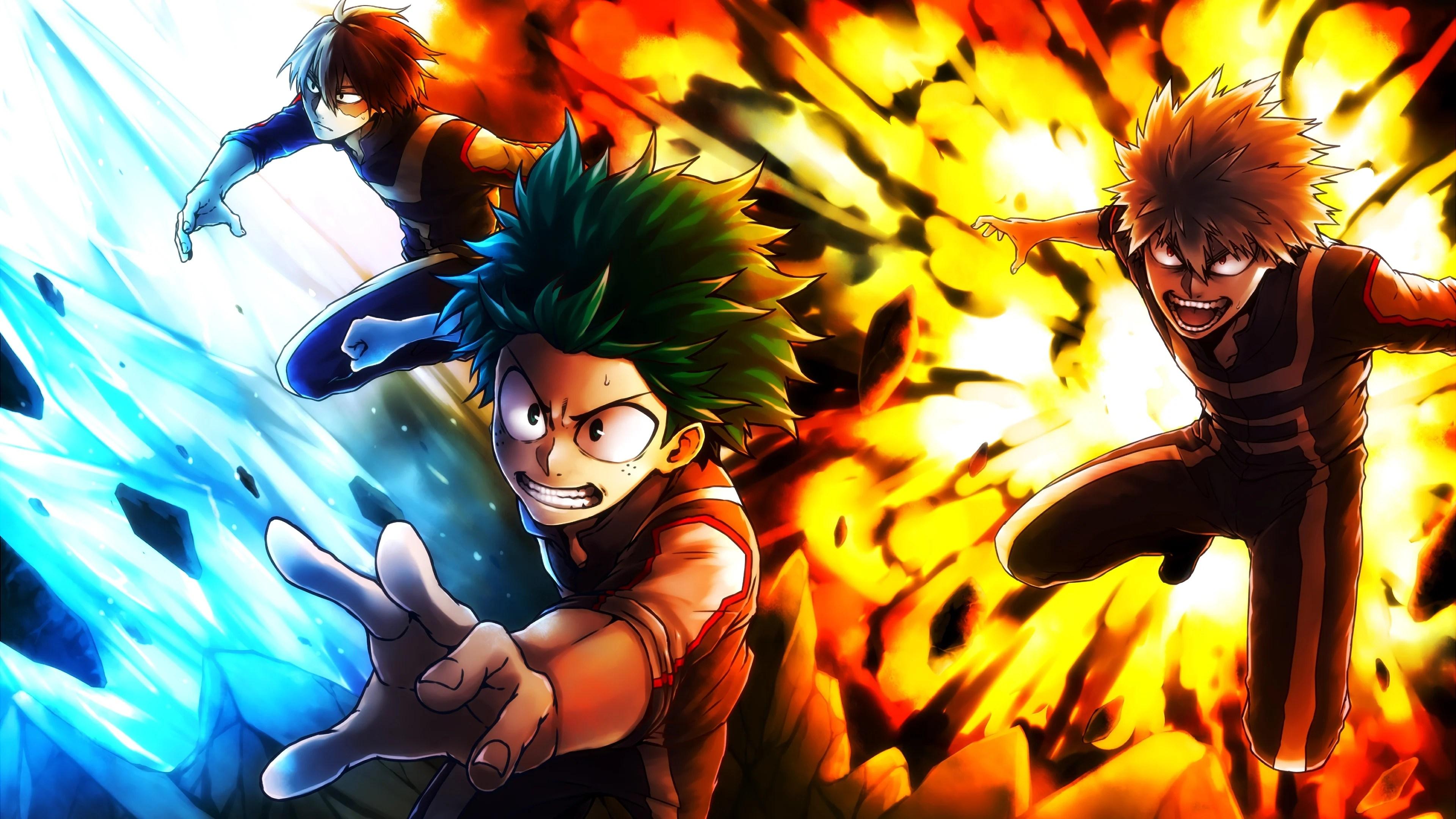 Hope you guys like them. My Hero Academia Anime Wallpaper 4k Ultra HD ID:3383