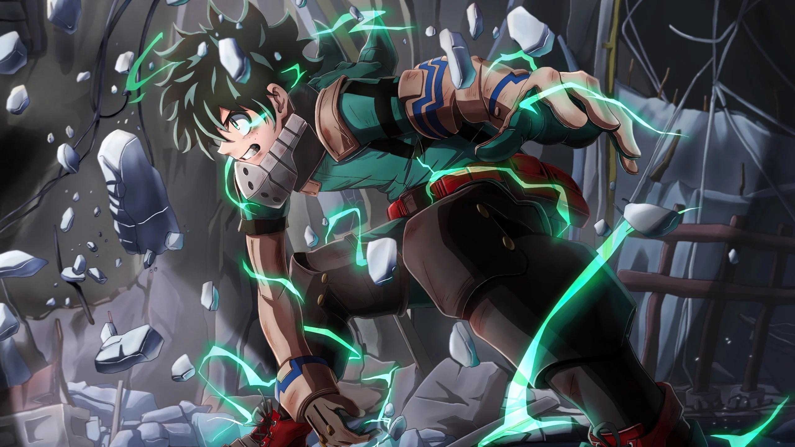 This wallpaper wednesday, let's ce. Izuku Midoriya Deku from My hero Academia Anime Wallpaper ...