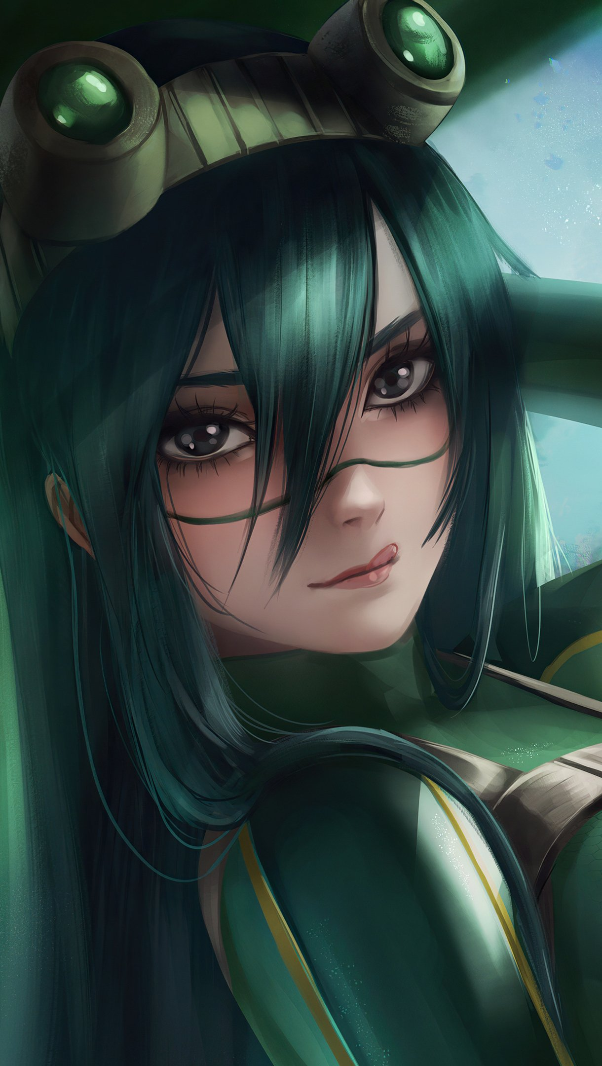My hero academy wallpapers offefeatures: Green Anime Wallpaper My Hero Academia - Anime Wallpaper HD