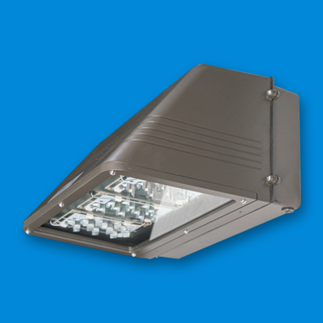 FCW Large, LED lighting fixture for wall mount LED, outside LED, exterior LED lights, LED bulbs, led floodlight, electric and utility poles.