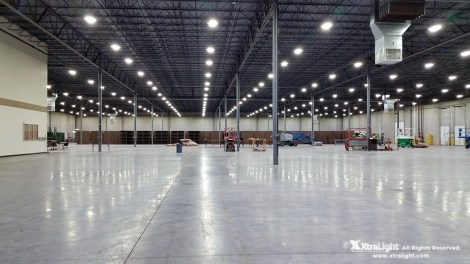 Low Profile Blade LEB LED High Bay Warehouse Application 02
