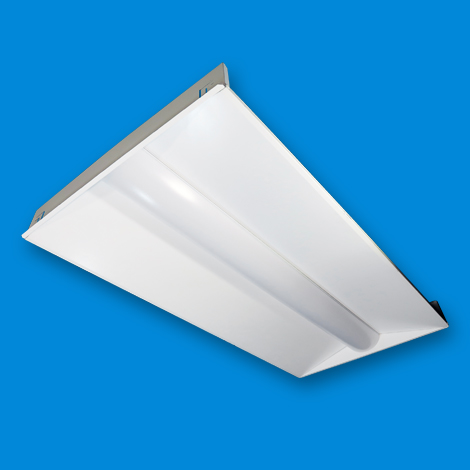 Low Profile Recessed Troffer LED Light