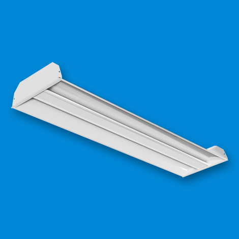 ART LED - Architectural Recessed Troffer 1x4 Flat Center Lens