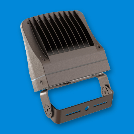 XtraLight Viento Flood Small With Trunnion Top View