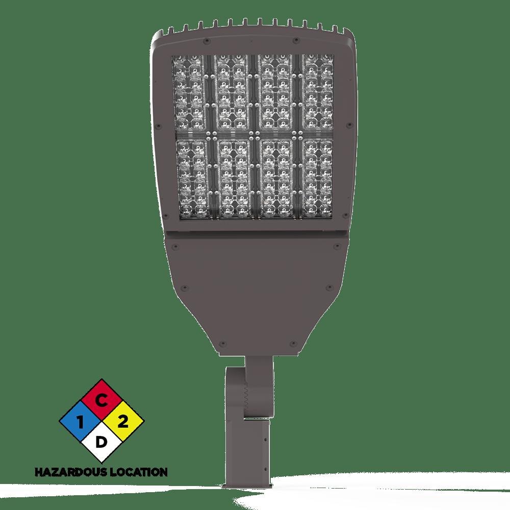 Viento Flood Light Large LED Hazardous Location Front View XtraLight Manufacturing, LTD.