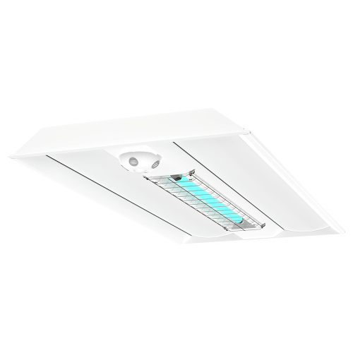 UVC 2x4 Direct Hybrid Troffer ISO XtraLight LED Solutions