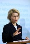 BERLIN - JANUARY 05:  German Labour Minister U...