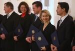 BERLIN - OCTOBER 28:  New German government mi...