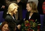 BERLIN - DECEMBER 02:  Newly appointed German ...