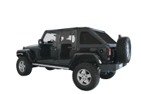 Jeep Wrangler Soft Top Roof Rack