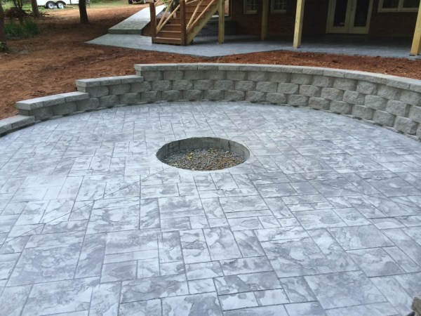 Brick Pavers vs Stamped Concrete
