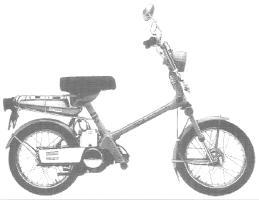 Honda Motorcycles Express & Express II