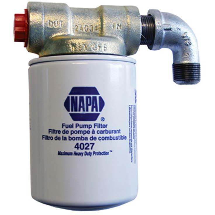 Transfer Flow In Line Fuel Filter Kit