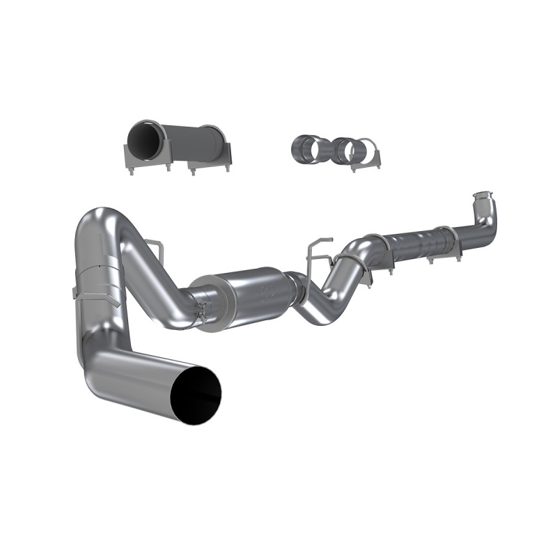 mbrp 4 performance series downpipe back exhaust system s6004p