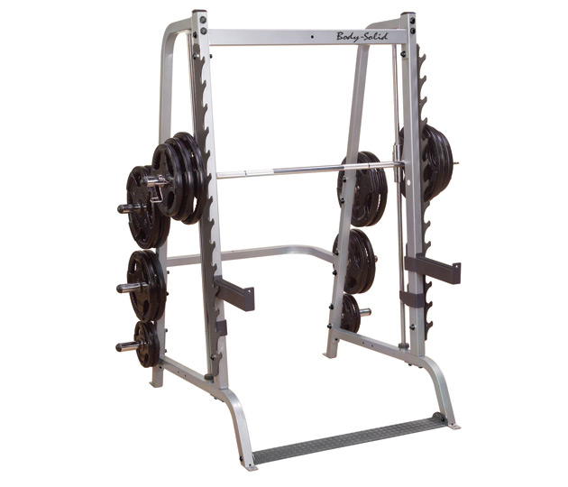 Body Solid Smith Gym Machines For Sale, Power Rack, Squat Rack