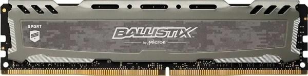 Ballistix Sport LT 8GB Single DDR4 2400