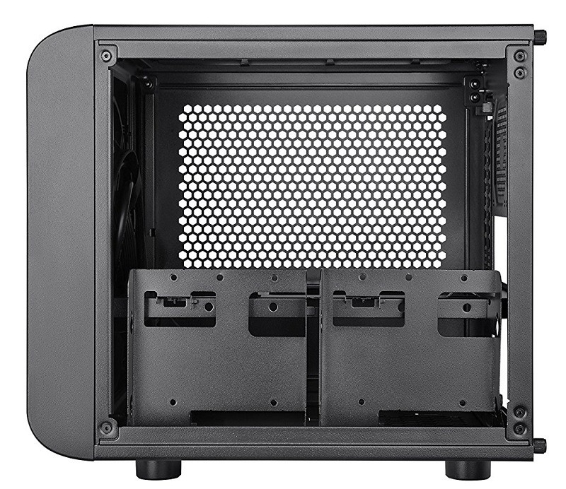 Thermaltake CORE V1 Black Edition Mini-ITX case 4