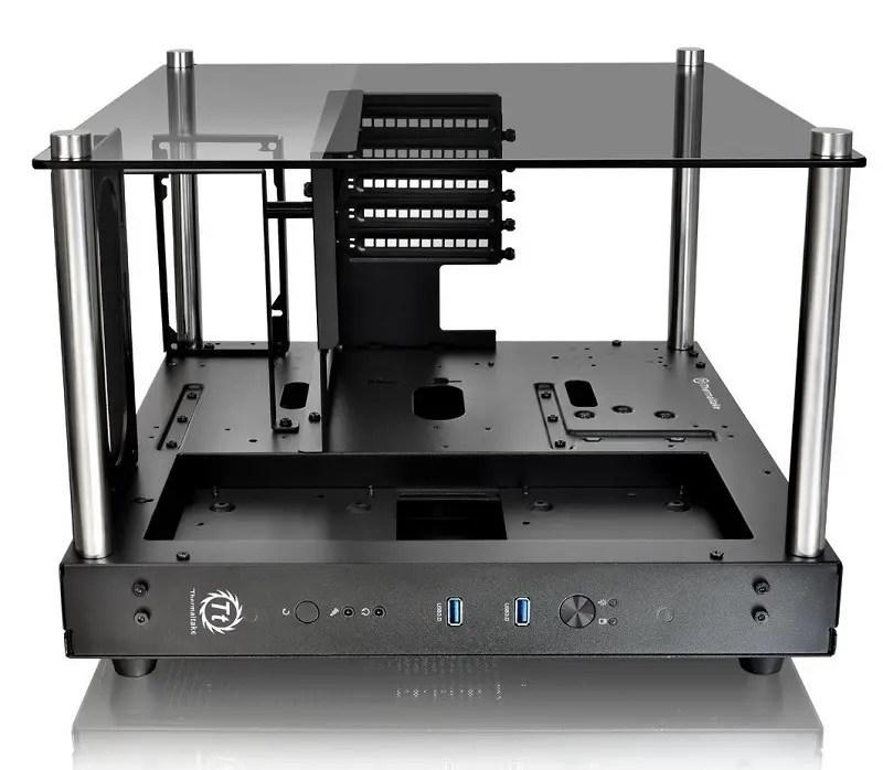 Thermaltake Core P1 Tempered Glass Mini-ITX case 4