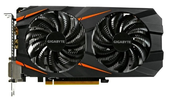 Gigabyte GeForce GTX 1060 Windforce OC 3GB