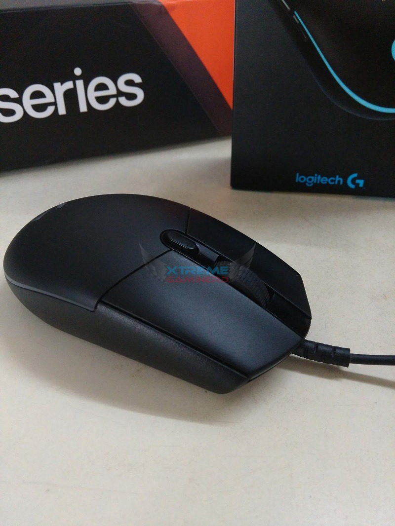 Logitech Prodigy G203 Gaming Mouse Review Xtremegaminerd G 102 G102 3 All Six Buttons Including The Right And Left Middle Button 2 On Side Of