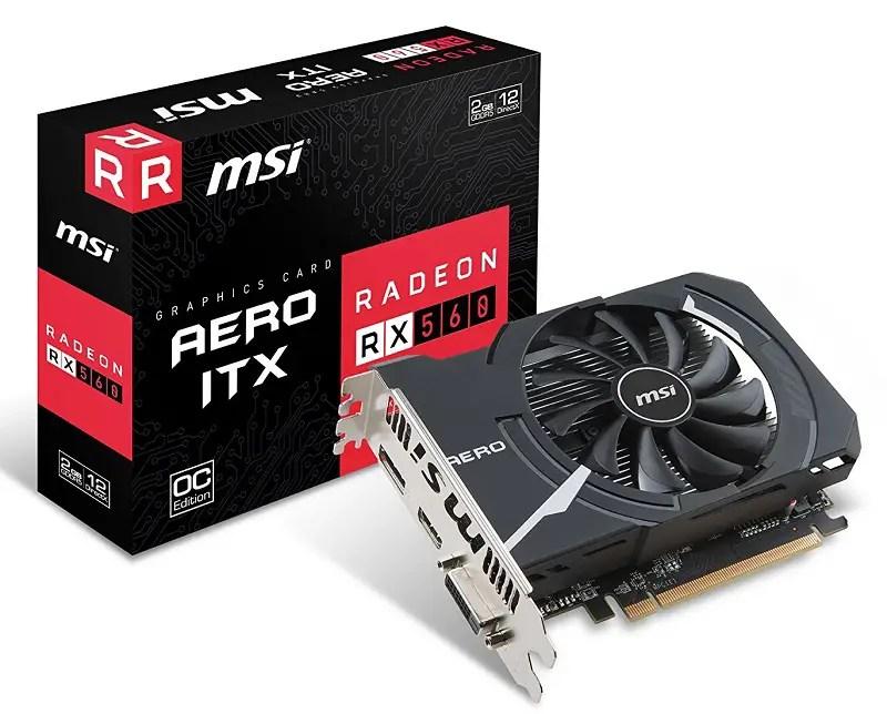 MSI Gaming Radeon RX 560