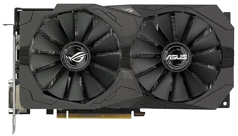ASUS ROG Strix Radeon RX 570 O4G Gaming OC