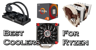 Best CPU coolers for Ryzen CPU