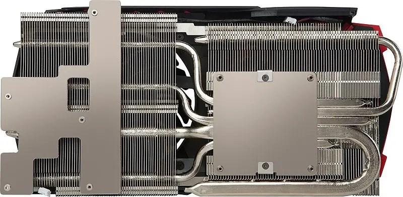 MSI GTX 1080 Ti Gaming X heatsink