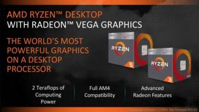 AMD Ryzen APUs