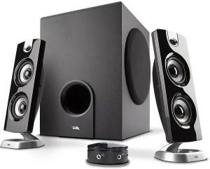 Cyber Acoustics 2.1 Speaker Sound System