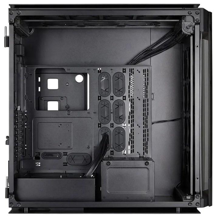 Corsair Obisidian 1000D interior