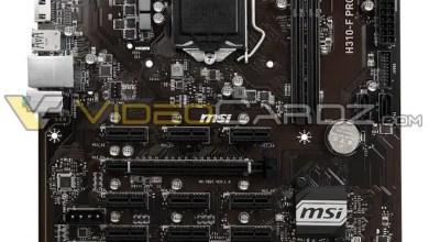 MSI H310-F Pro mining motherboard