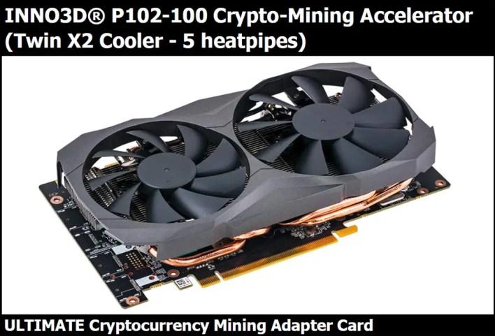 Nvidia P102-100 Crypto Mining Card