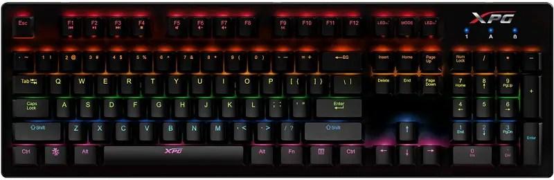 Infrarex K20 Gamer keyboard 1