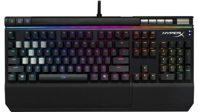 HyperX Alloy Elite RGB gaming keyboard