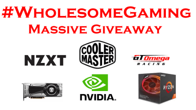 WholesomeGaming Massive Giveaway