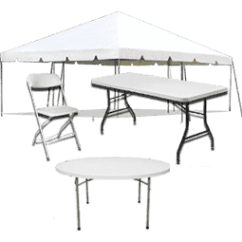 Table And Chair Rentals Steel Drawing Bounce House Water Slide 89 Today Xtreme Jumpers Weddings Events Tents Tables Chairs Rental