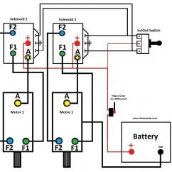 Warn Winch Wiring Diagram 4 Solenoid Soldering Iron 12 Volt Post Get Free Image