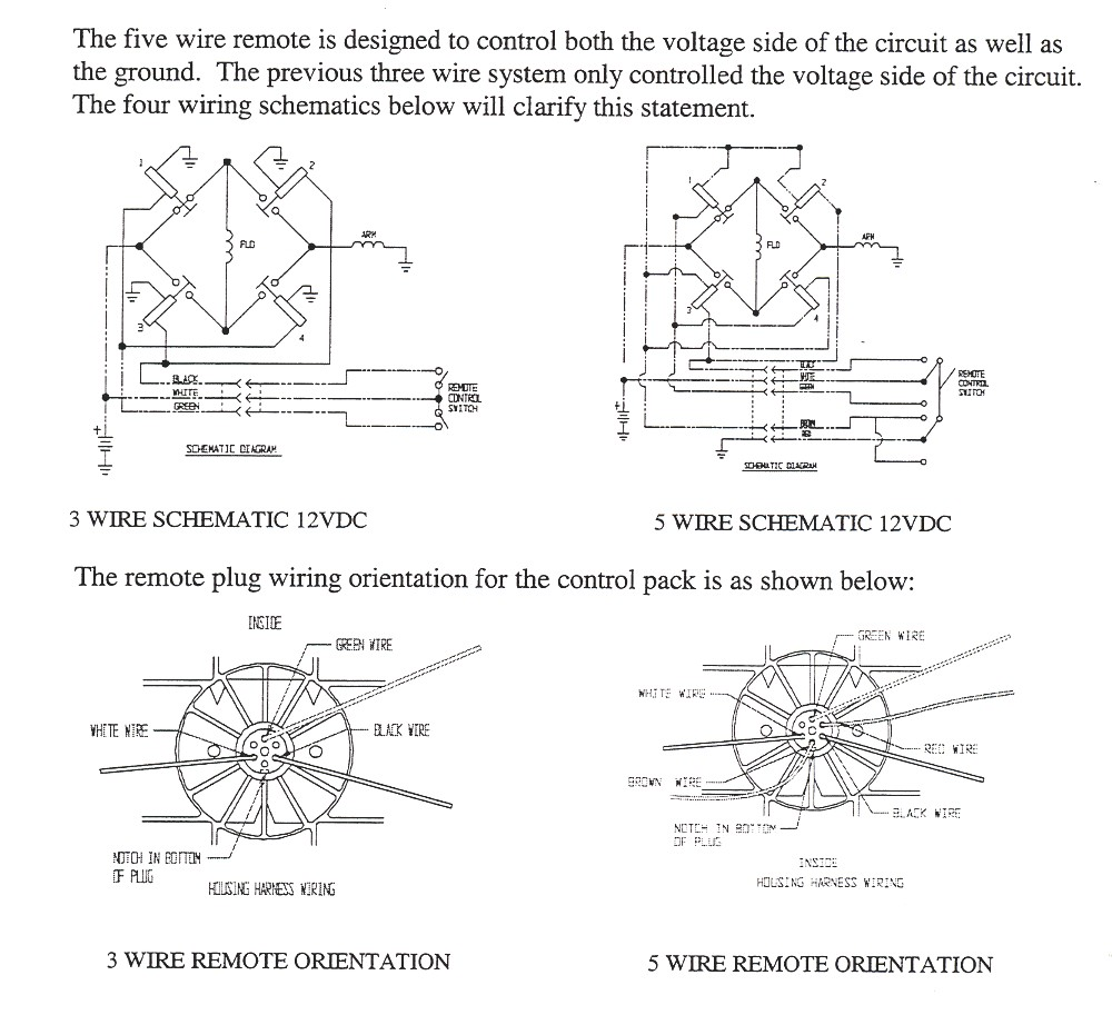 medium resolution of winch remote wiring 3 and 5 pin diagrams image