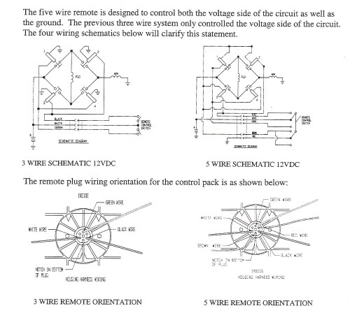 small resolution of winch remote wiring 3 and 5 pin diagrams image