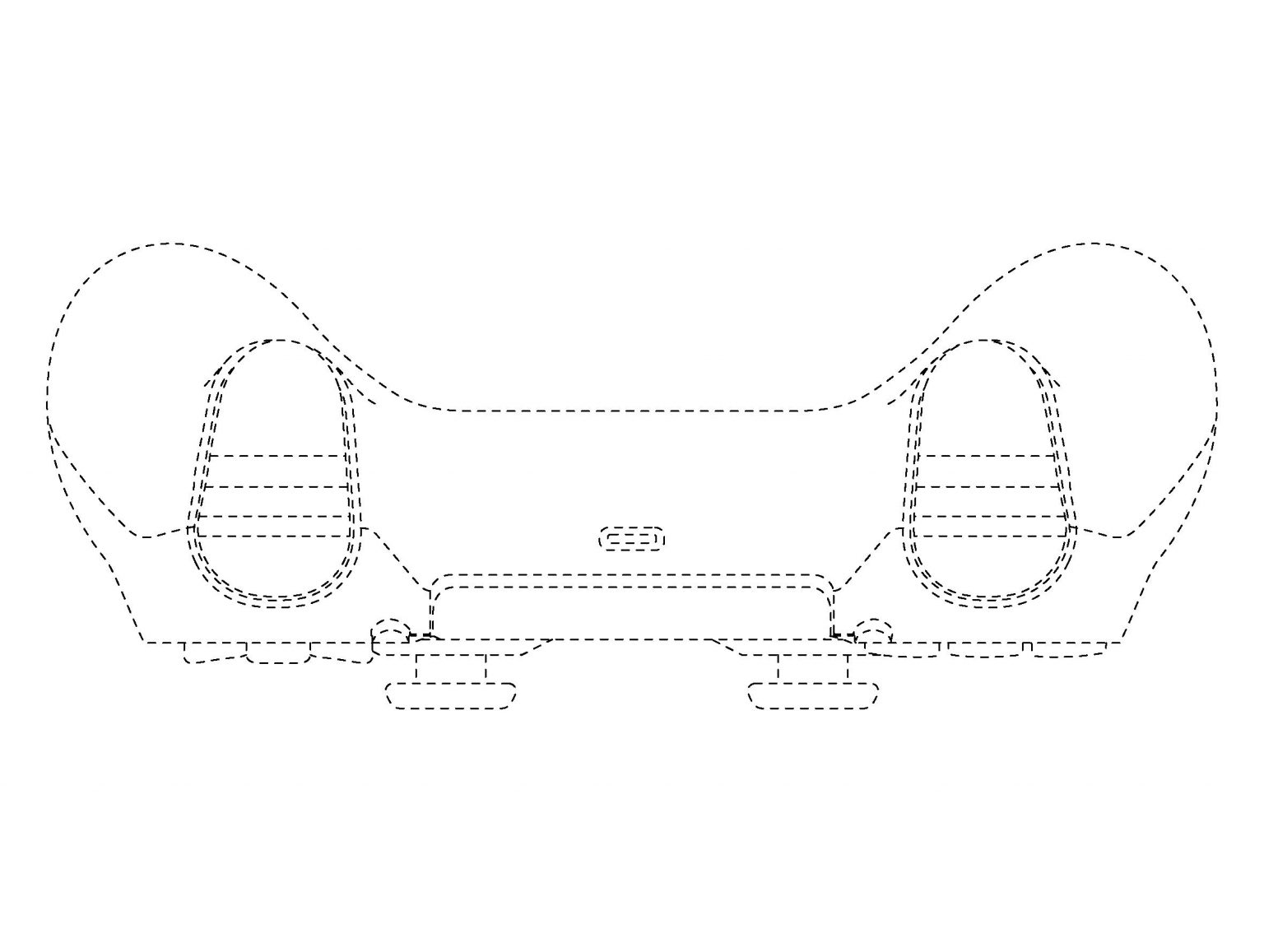 DualShock 5 Designs for the PS5 Revealed in Patent