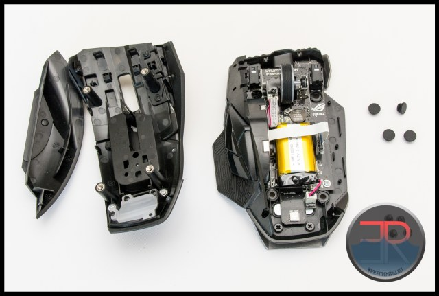 Asus ROG Spatha Wireless Mouse Internals